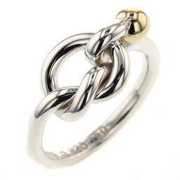 ティファニー TIFFANY&Co. フック&アイ  リング・指輪  シルバー925/K18イエローゴールド 7号 シルバー レディース K00407008