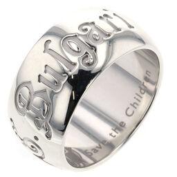 ブルガリ BVLGARI セーブザチルドレン チャリティ リング・指輪  シルバー925 14号 シルバー メンズ K00411911