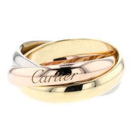 カルティエ CARTIER トリニティ 5P  リング・指輪  K18ホワイトゴールド/K18イエローゴールド/K18ピンクゴールド/ダイヤモンド ダイヤモンド 10号 ゴールド レディース K00413927