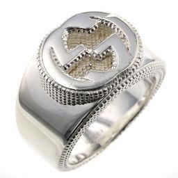 グッチ GUCCI インターロッキング G リング・指輪  シルバー925 16.5号 シルバー メンズ K00511184