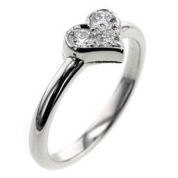 ティファニー TIFFANY&Co. センチメンタル 3P  リング・指輪  プラチナPT950/ダイヤモンド ダイヤモンド 6号 シルバー レディース K00513241