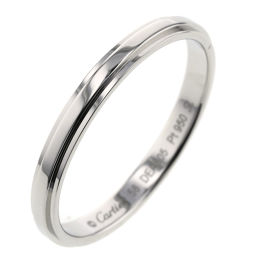 カルティエ CARTIER ダムール 2.5mm リング・指輪  プラチナPT950 18号 シルバー メンズ K00513248