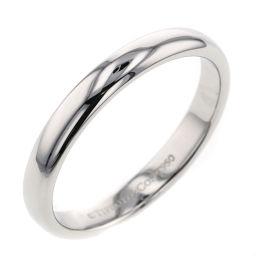 ティファニー TIFFANY&Co. クラシックバンド 約3mm リング・指輪  プラチナPT950 16.5号 シルバー メンズ K00513275