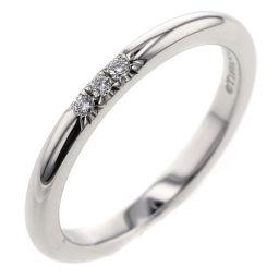 ティファニー TIFFANY&Co. クラシックバンド 3P  リング・指輪  プラチナPT950/ダイヤモンド ダイヤモンド 7号 シルバー レディース K00513281