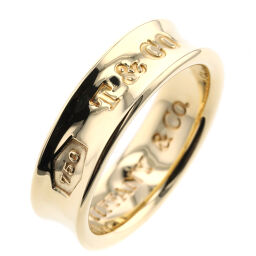 ティファニー TIFFANY&Co. 1837 約6mm リング・指輪  K18イエローゴールド 12.5号 ゴールド レディース K00513301