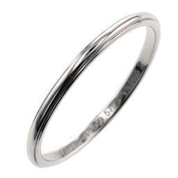 カルティエ CARTIER ダムール 約2mm リング・指輪  プラチナPT950 17号 シルバー メンズ K00513303
