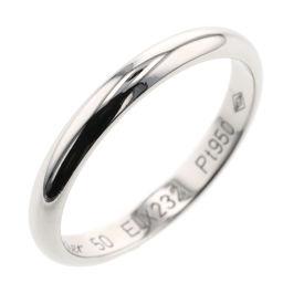 カルティエ CARTIER ウェディング 約2.5mm リング・指輪  プラチナPT950 10号 シルバー レディース K00513323