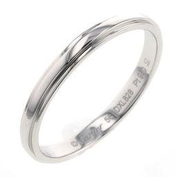 カルティエ CARTIER ダムール 約2.5mm リング・指輪  プラチナPT950 16号 シルバー メンズ K00520374