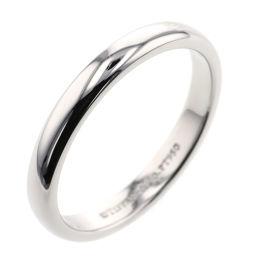ティファニー TIFFANY&Co. クラシックバンド 約3mm リング・指輪  プラチナPT950 16.5号 シルバー メンズ K00613652