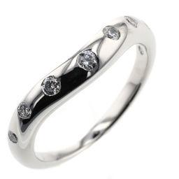 ブルガリ BVLGARI コロナ ウェディング 7P  リング・指輪  プラチナPT950/ダイヤモンド ダイヤモンド 11号 シルバー レディース K00613655