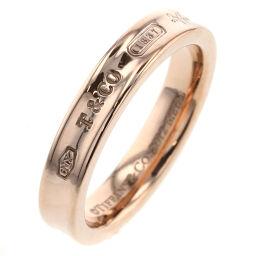 ティファニー TIFFANY&Co. 1837 ナロー リング・指輪  ルベドメタル 14号 ゴールド レディース K00623790