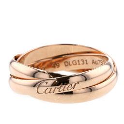 カルティエ CARTIER トリニティ 幅約3mm リング・指輪  K18ピンクゴールド 10号 ゴールド レディース K00708345