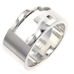 グッチ GUCCI ブランデッドG 約12mm リング・指輪  シルバー925 22.5号 シルバー メンズ K00711104