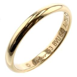 カルティエ CARTIER ウェディング 幅約2.5mm リング・指輪  K18イエローゴールド 13号 ゴールド レディース K00713132