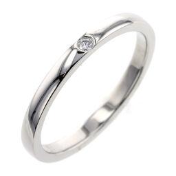 カルティエ CARTIER バレリーナ ウェディング 1P 幅約2mm リング・指輪  プラチナPT950/ダイヤモンド/54 ダイヤモンド 14号 シルバー メンズ K00713165