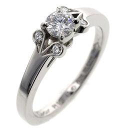カルティエ CARTIER バレリーナ 0.26ct  E VVS1 EX NONE リング・指輪 N4197547  プラチナPT950/ダイヤモンド ダイヤモンド0.26ct 7号 シルバー レディース K00713193