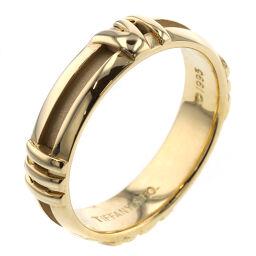 ティファニー TIFFANY&Co. アトラス ニューメリック 幅約4.5mm リング・指輪  K18イエローゴールド 10号 ゴールド レディース K00713221
