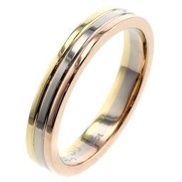 カルティエ CARTIER スリーカラー  リング・指輪  K18ホワイトゴールド/ピンクゴールド/K18イエローゴールド 16号 ゴールド メンズ K00713229