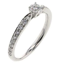 ティファニー TIFFANY&Co. ハーモニー ハーフサークル 0.19ct F SI1 3EX NONE リング・指輪  プラチナPT950/ダイヤモンド ダイヤモンド0.19ct 6号 シルバー レディース K00713254