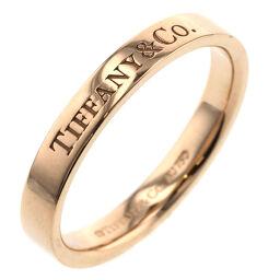 ティファニー TIFFANY&Co. フラット Tiffany & Co.バンド  リング・指輪  K18ピンクゴールド 14.5号 ゴールド レディース K00713275