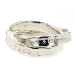 ティファニー TIFFANY&Co. 1837インターロッキングサークル リング・指輪  シルバー925 9号 シルバー レディース K00811617