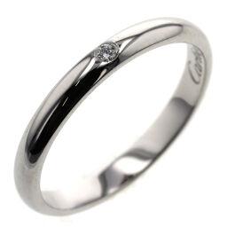 カルティエ CARTIER 1895 ウェディング 1P 約2.6mm リング・指輪 B4057700  プラチナPT950/ダイヤモンド ダイヤモンド 11号 シルバー レディース K00813683