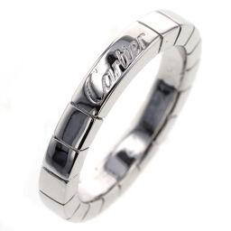 カルティエ CARTIER ラニエール 幅約3mm  リング・指輪  K18ホワイトゴールド 7号 シルバー レディース K00813697