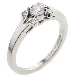 カルティエ CARTIER バレリーナ 0.18ct D VVS2 EX NONE リング・指輪 N4230300  プラチナPT950/ダイヤモンド ダイヤモンド0.18ct 7号 シルバー レディース K00813698