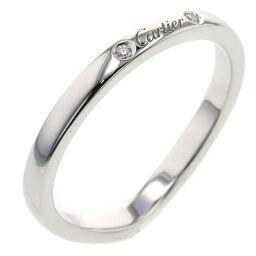 <html>    <body>   カルティエ CARTIER バレリーナカーブウェディング 約2mm リング・指輪 プラチナPT950/ダイヤモンド ダイヤモンド0.01ct 13号 シルバー レディース K00813699  </body> </html>