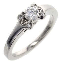 Cartier CARTIER Valerie 0.25ct F VS2 3EX FB Ring / Ring N41975 Platinum PT950 / Diamond Diamond 0.25ct 8.5 Silver Ladies K00813700