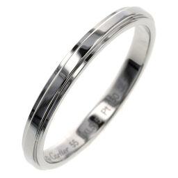 Cartier CARTIER Cartier Damour Wedding Width approx. 2.5mm Ring / Ring B4093900 Platinum PT950 No. 15 Silver Men's K00813703
