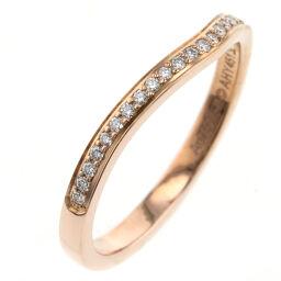 カルティエ CARTIER バレリーナ ウェディング ハーフエタニティ 約2mm リング・指輪 B4098700  K18ピンクゴールド/ダイヤモンド ダイヤモンド0.09ct 10号 ゴールド レディース K00813704