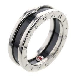 ブルガリ BVLGARI ビーゼロワン セーブザチルドレン チャリティ リング・指輪  シルバー925/黒セラミック 15号 シルバー メンズ K00813759