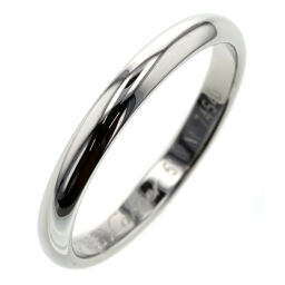 Cartier CARTIER 1895 Wedding Width Approximately 2.5mm Ring / Ring B4012500 Platinum PT950 10.5 Silver Ladies K00813779
