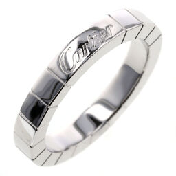 Cartier CARTIER Lanier Width approx. 3mm Ring / Ring K18 White Gold No. 9 Silver Ladies K00813792