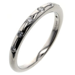 Bvlgari BVLGARI Feddy 7P Ring / Ring Platinum PT950 / Diamond Diamond No. 9 Silver Ladies K00813795