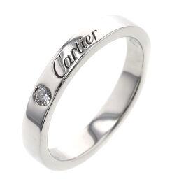 <html>    <body>   カルティエ CARTIER C ドゥ カルティエ ウェディング 1P リング・指輪 プラチナPT950/ダイヤモンド ダイヤモンド 10号 シルバー レディース K00813797        </body> </html>