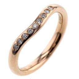 ティファニー TIFFANY&Co. カーブドバンド 9P  リング・指輪 エルサペレッティ  K18ピンクゴールド/ダイヤモンド ダイヤモンド 5号 ゴールド レディース K00813802