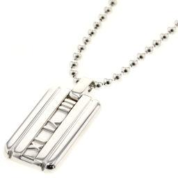Tiffany TIFFANY & Co. Atlas Tag Necklace Silver 925 Silver Ladies K00915058