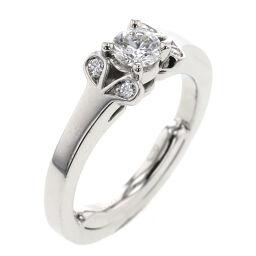 Cartier CARTIER Ballerina 0.20ct VS1 EX NONE E Resize Ring / Ring N4230300 Platinum / Diamond Diamond 0.20ct No. 2 Silver Ladies K00916140