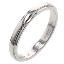 Cartier CARTIER Damour Approximately 2.5mm Ring / Ring B4093900 Platinum PT950 No. 8 Silver Ladies K00916185