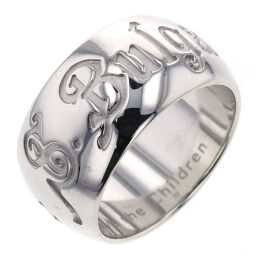 Bvlgari BVLGARI Save the Children Ring / Ring Silver 925 No. 9 Silver Ladies K00929223
