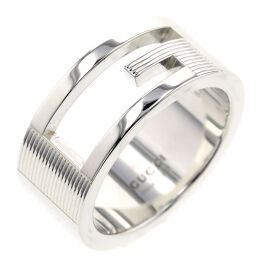 Gucci GUCCI Branded G Ring / Ring Silver 925 No. 10 Silver Ladies K01006282