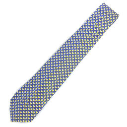 Bvlgari BVLGARI Pictorial Heart Tie 244338 100% Silk Purple Men's K01006296