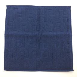 Hermes HERMES H Logo Labyrinth Towel Other 101299M Cotton BLUE LICHEN Navy Men's K01006299