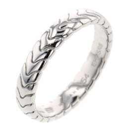 Bvlgari BVLGARI Spiga Wedding Approximately 4mm Ring / Ring 349152 Platinum PT950 No. 14 Silver Ladies K01007468