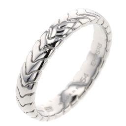 ブルガリ BVLGARI スピーガ ウエディング 約4mm リング・指輪 349152  プラチナPT950 14号 シルバー レディース K01007468