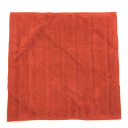 Hermes HERMES Labyrinth Towel Other 101299M Cotton ORANGE TERRACOTTA Orange Ladies K01020566