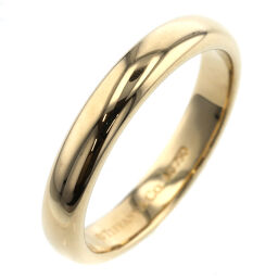 Tiffany TIFFANY & Co. Classic Band Width Approximately 3mm Ring / Ring K18 Yellow Gold No. 7 Gold Ladies K01021677