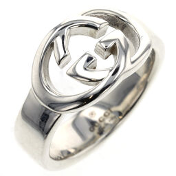 Gucci GUCCI Interlocking G Ring / Ring Silver 925 No. 12 Silver Ladies K01103783